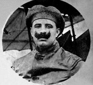 Primeiro-Tenente Jorge Henrique Möller, o primeiro aviador militar brasileiro. (Foto: Marinha do Brasil)