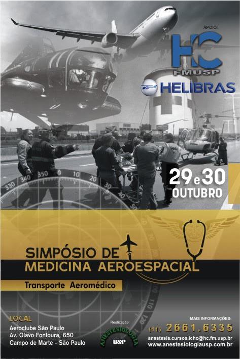 Cartaz Simpósio Med Aer HC