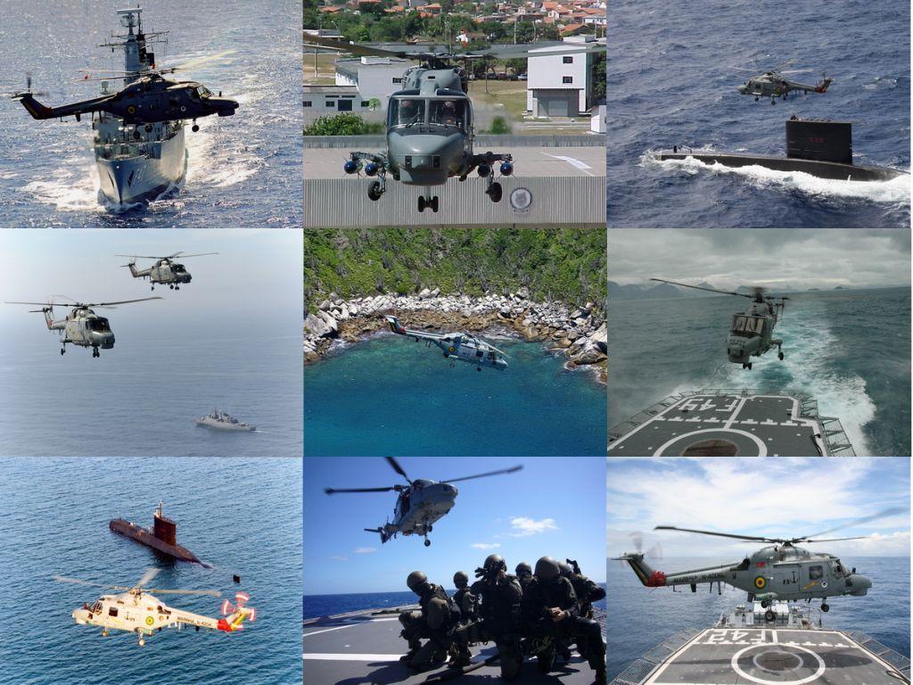 Aeronave Westland AH-11A Super Lynx, operada atualmente pelo Esquadrão HA-1. (Todas as fotos: Marinha do Brasil)