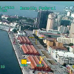 Voo Abin 02_Porto do Rio e complexo esportivo da Barra da Tijuca