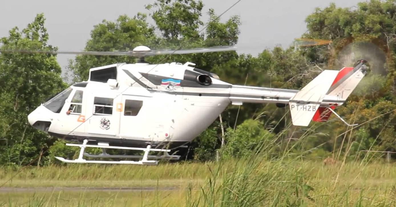 Casa Militar do Espírito Santo lança concorrência para venda do helicóptero BK-117