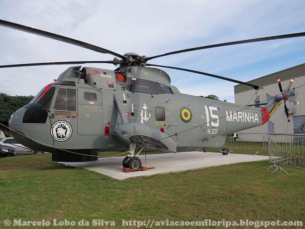 Com a chegada dos MH-16 SeaHawk, os Sea King foram retirados de serviço. O exemplar encontra-se preservado no Museu da Aviação Naval, no interior da BAeNSPA.