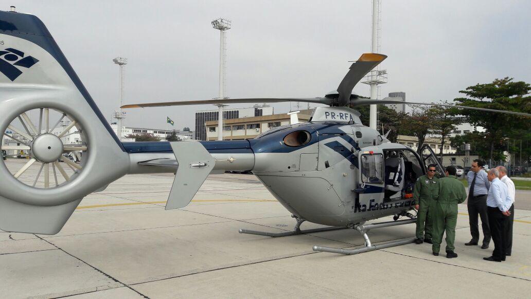Divisão de Operações Aéreas da Receita Federal apoia esquema de segurança na Olimpíada Rio 2016