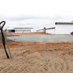 Iniciada construção de heliporto no Centro Integrado de Saúde. Crédito: Nelson Robledo