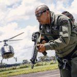 Governador fez a entrega dos equipamentos, garantindo uma estrutura melhor ao Batalhão Aéreo da Polícia Militar e reforço da segurança pública.  Foto: Márcio Ferreira