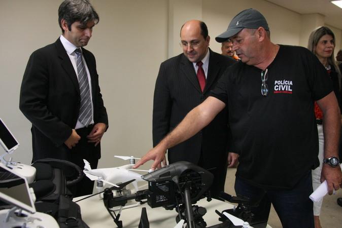 Aquisição de equipamentos é resultado de parceria entre a Polícia Civil e o poder judiciário. Foto: Jéssica Pereira.