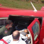 GOA de Rondônica realiza transporte aeromédica de criança