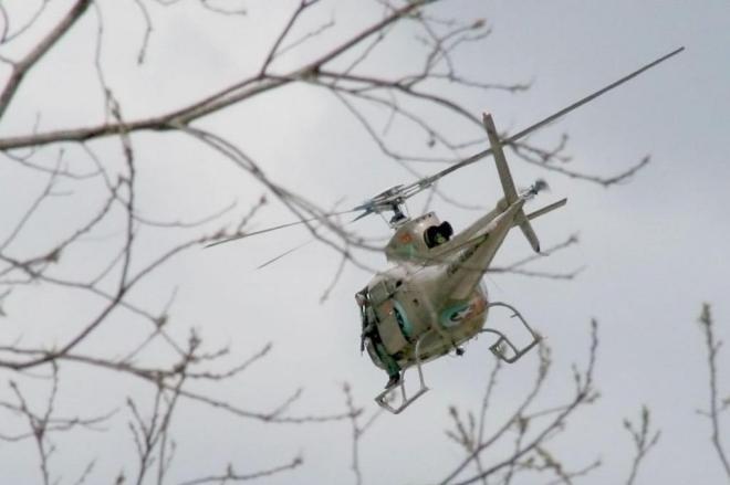 Blumenau terá reforço de helicóptero da Polícia Militar durante a Oktoberfest