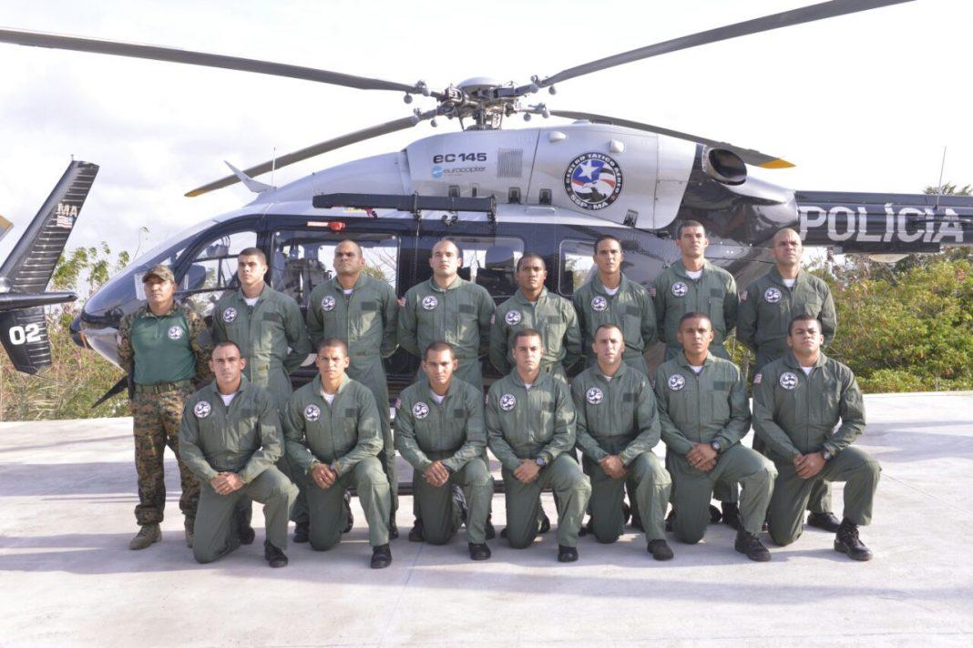 O treinamento especial formou 15 oficiais para integrar equipe de combate aéreo do Estado. (Foto: Nael Reis/Secap)
