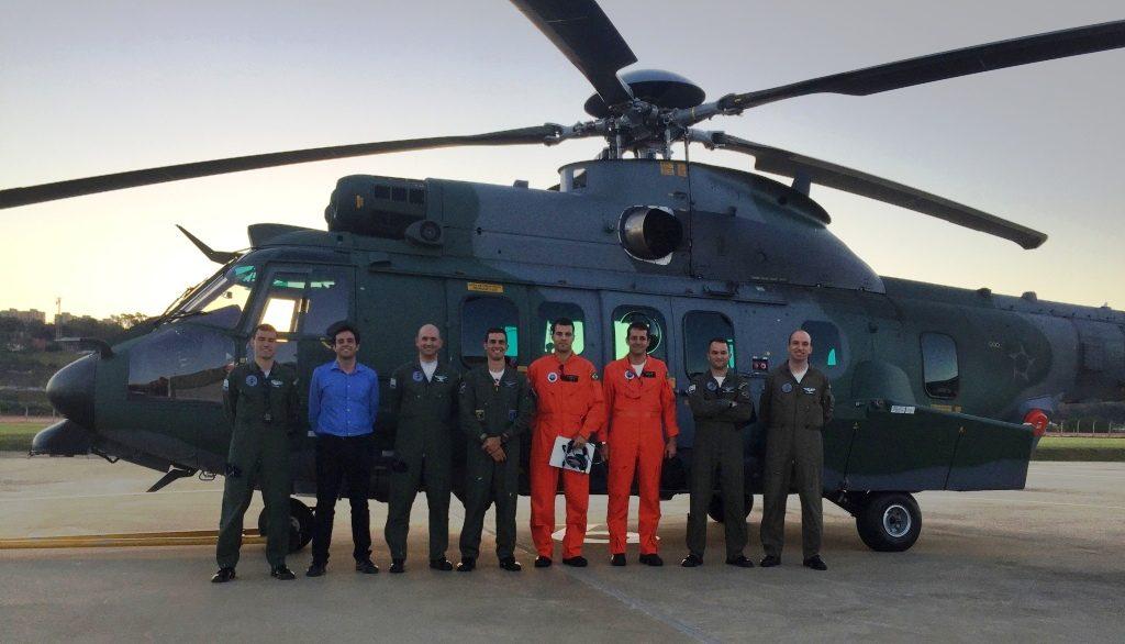 Helibras entrega mais um H225M para a FAB