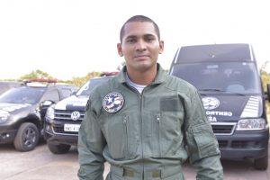 Lucas Pontes, soldado do CBM-MA. (Foto: Nael Reis/Secap)