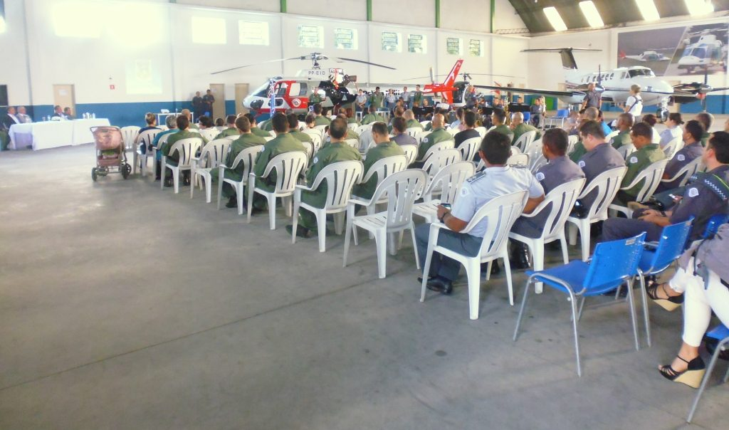 Grupamento Aéreo comemora o Dia do Aviador