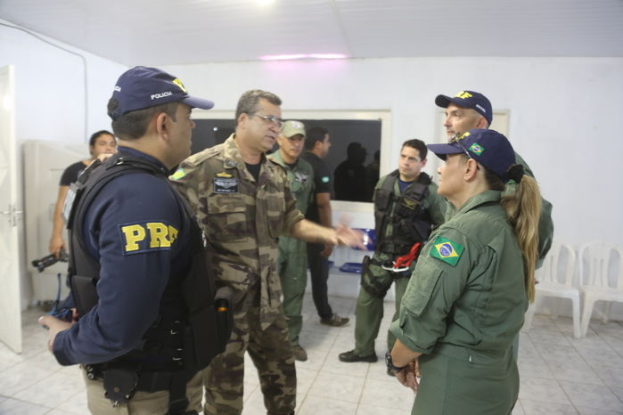 Reunião da Operação Integrada de Combate às Queimadas (Crédito: Efrém Ribeiro)
