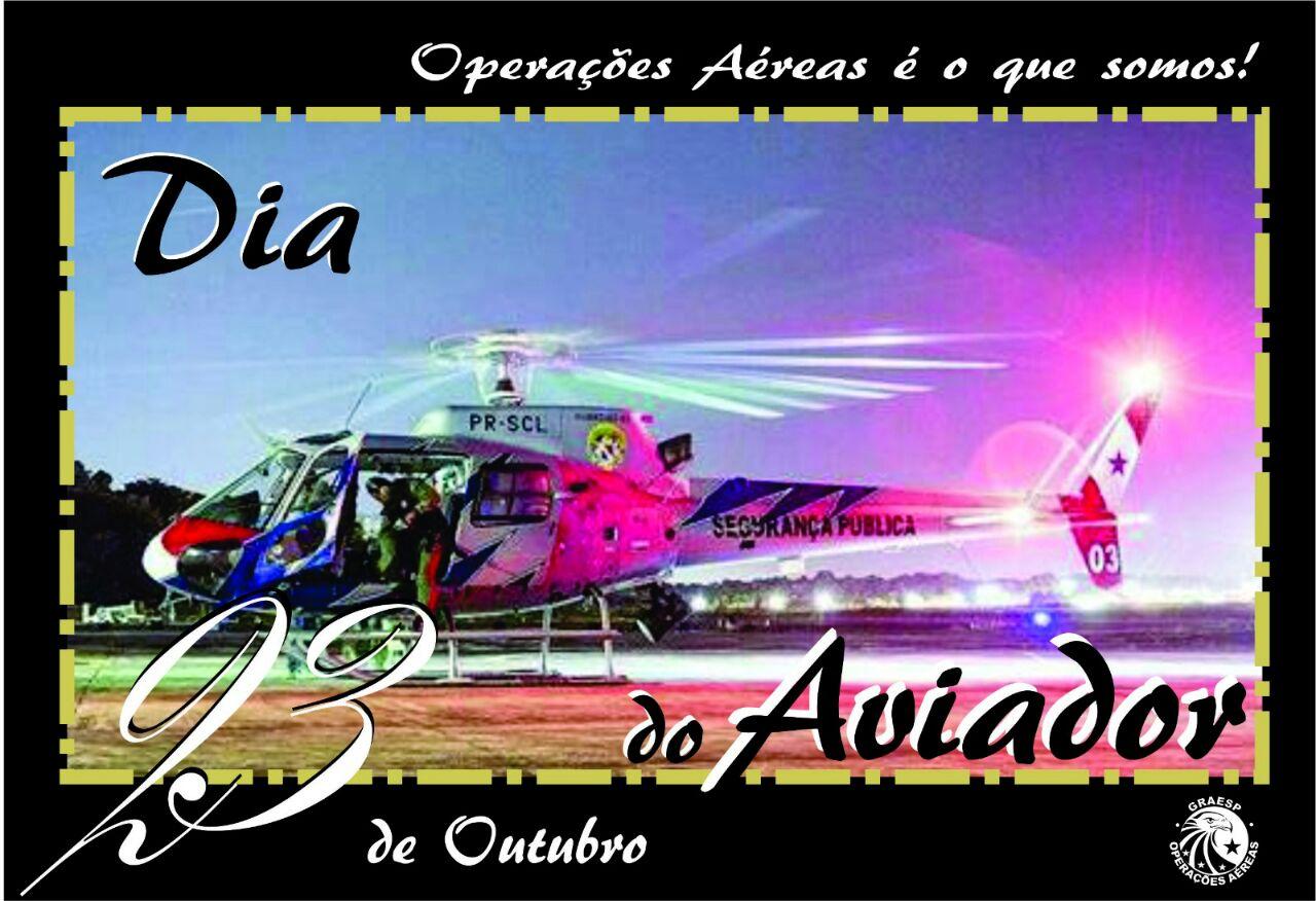 b2957b9ae47d5 23 de Outubro - Aviador e Piloto - Piloto Policial