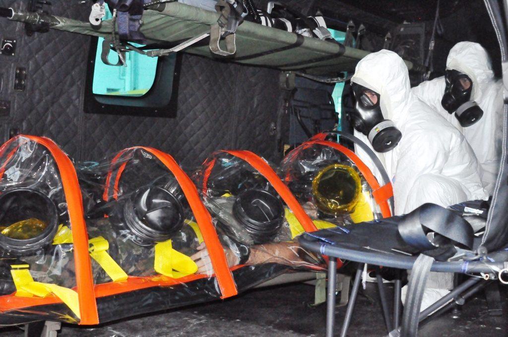 As aeronaves estiveram de prontidão para missões de Alerta SAR (Busca e Salvamento) e Alerta QBRN (Química, Biológica, Radiológica e Nuclear)