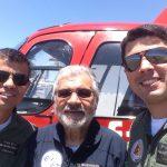 Esquadrilha Pégasus realiza treinamento de procedimentos de emergência na EFAI