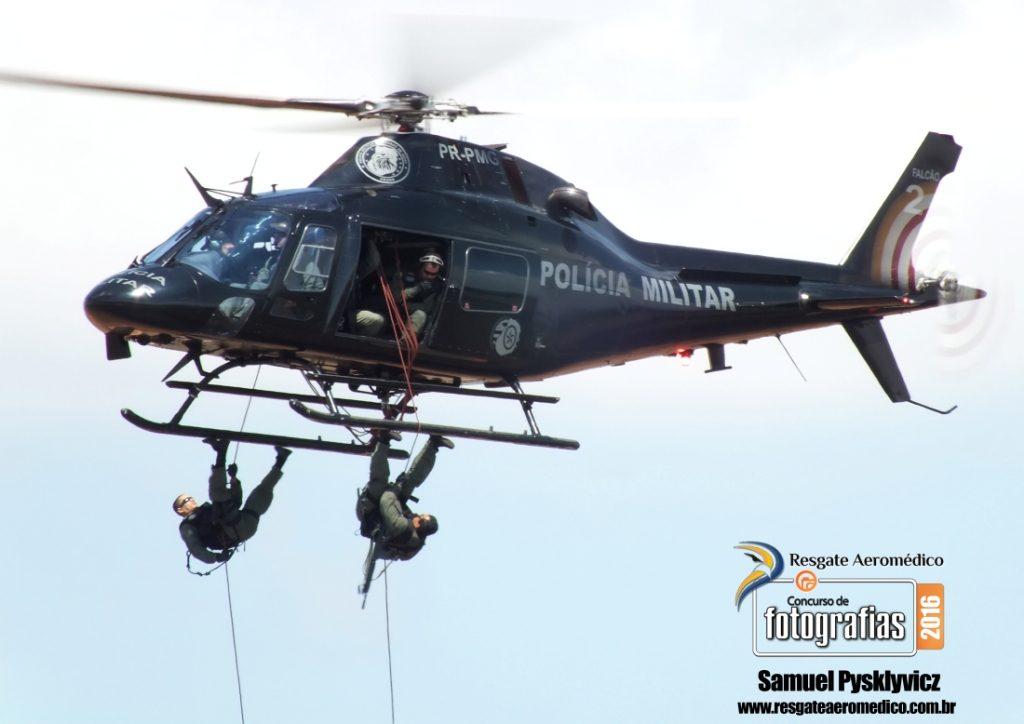 Piloto Policial fará exposição das fotos premiadas no I Simpósio de Medicina Aeroespacial e Resgate Aeromédico