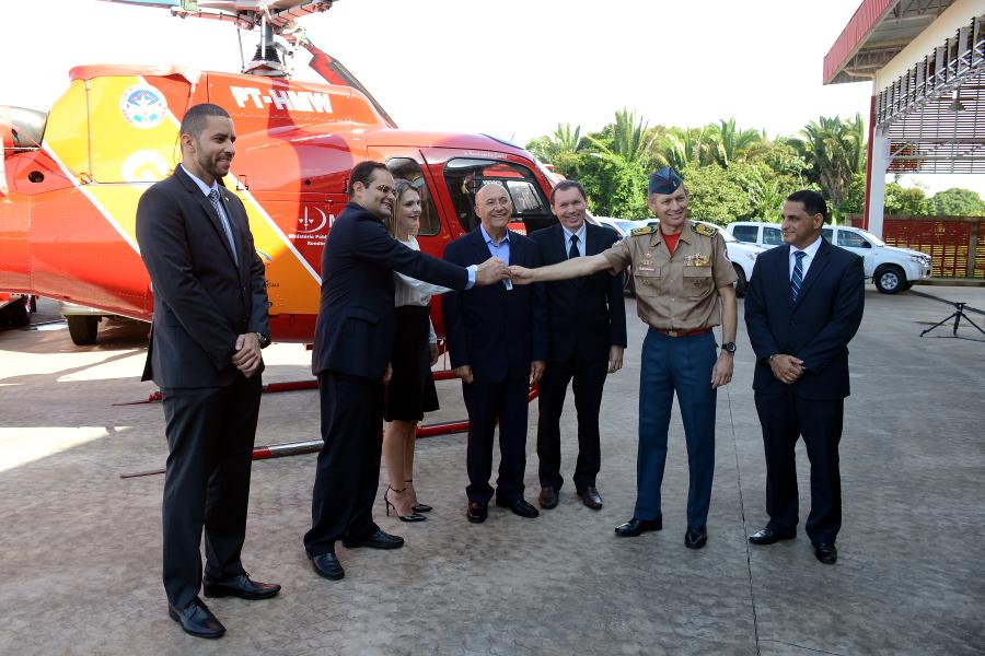 Helicóptero doado ao GOA pelo Ministério Público do Trabalho nunca voou