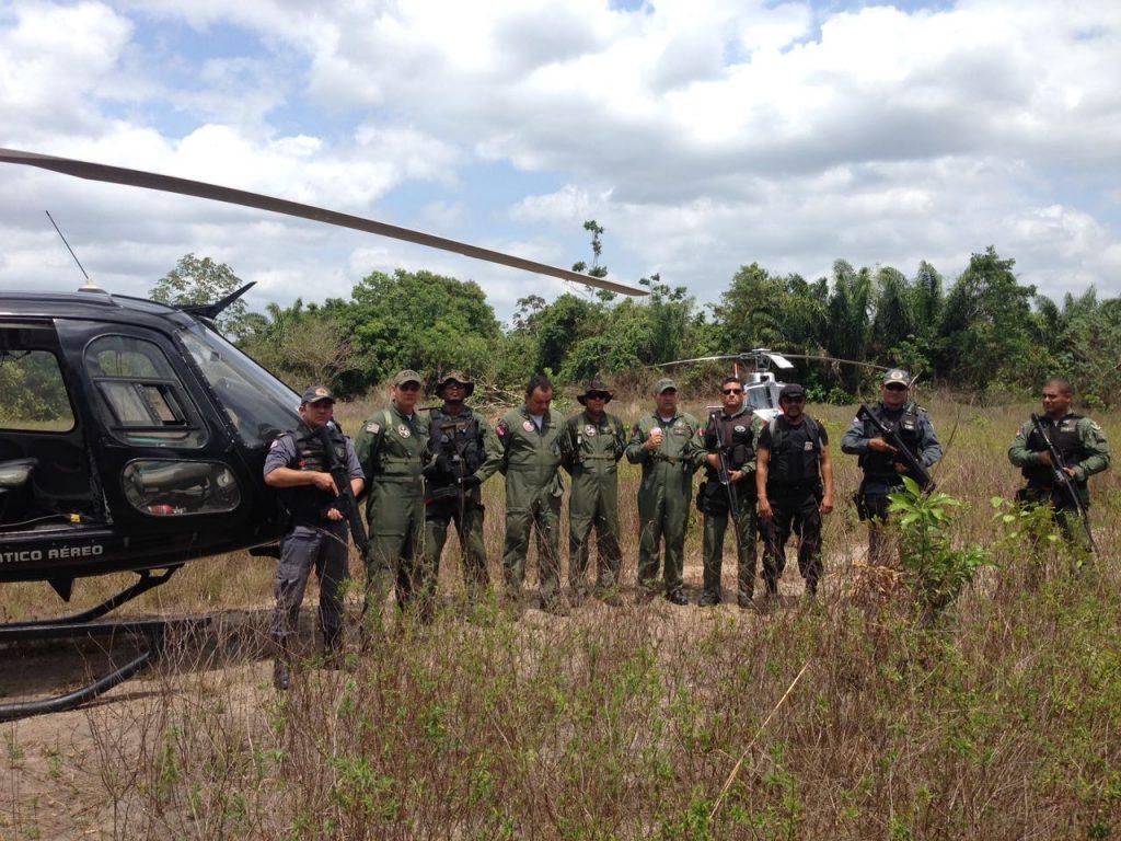 Operação policial destroi 10 plantações de maconha na divisa do Pará com o Maranhão