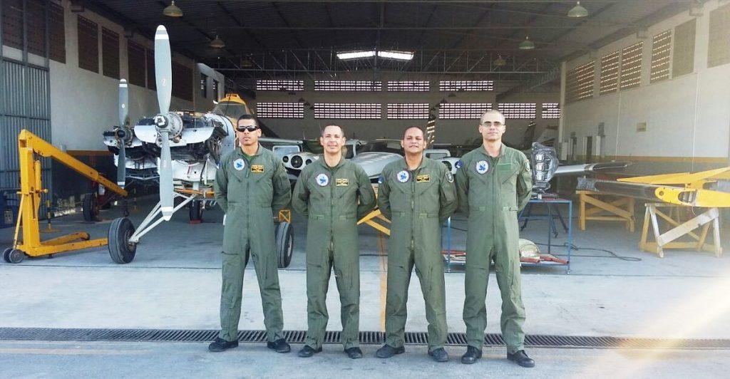 Servidores do GTA-PE recebem Certificado de Habilitação Técnica de Mecânico de Aeronave