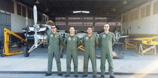 ( Foto : Fernandes , Lúcio , Joab e Santos ; Da Esquerda para a Direita )