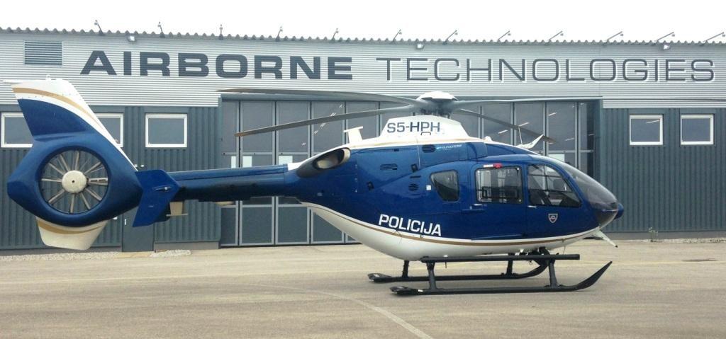 Airborne Technologies irá atualizar EC135 da polícia eslovena