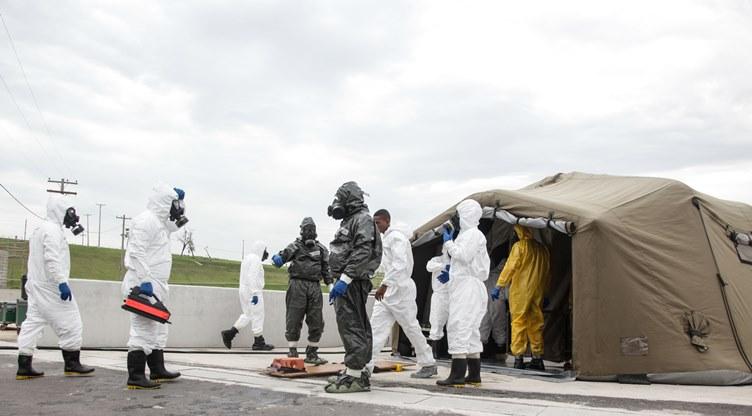 Treinamento em ameaças químicas, biológicas, radiológicas e nucleares é realizado em Sergipe