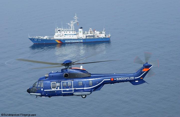 Polícia Federal alemã compra três helicópteros H215
