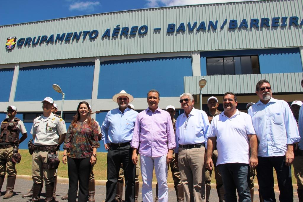 Governador visita nova Base Avançada do Graer, em Barreiras
