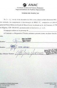 Hospital da PM de Minas é credenciado pela ANAC para inspeções médicas