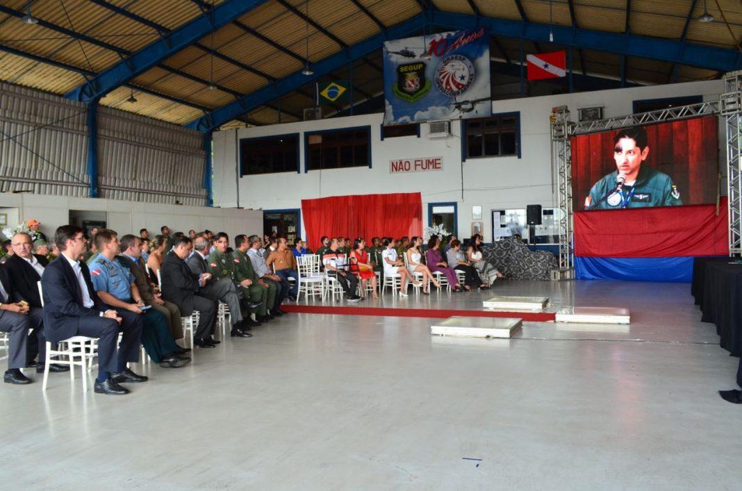 Grupamento Aéreo de Segurança Pública do Pará tem novo diretor