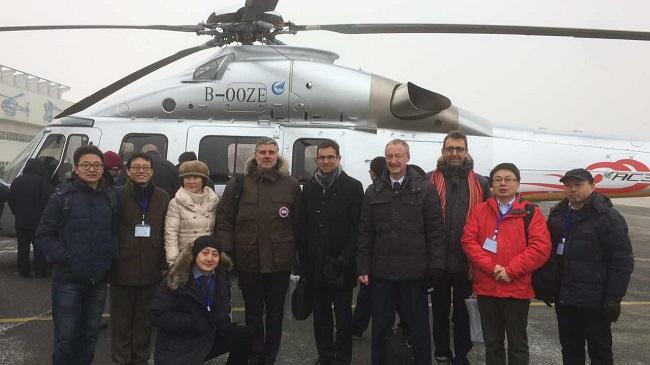Primeiro helicóptero chinês civil de sete toneladas faz voo inaugural