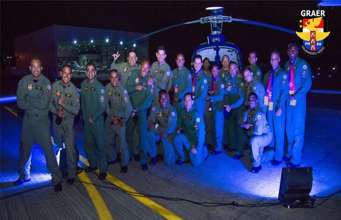 Grupamento Aéreo da PM da Bahia completa 10 de anos salvando e protengendo vidas