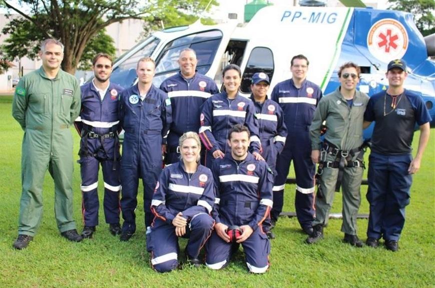 Samu Aeromédico de Maringá recebe autorização da Anac para pousos e decolagens em áreas restritas