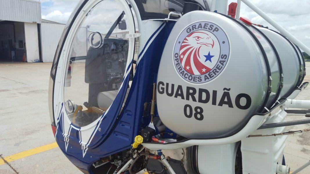 GRAESP recebe o helicóptero de instrução, Guardião 08