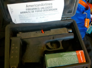 Foto: On Point Firearms. Fly the Friendly Skies.