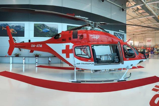 Bell 429 aeromédico