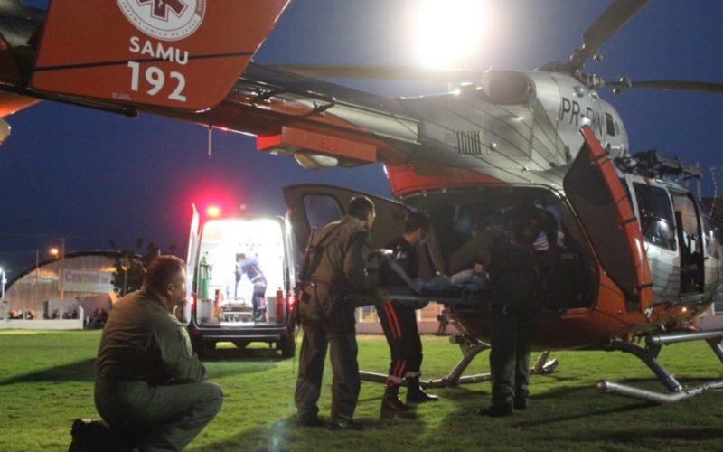 EC 145 do CIOPAer realiza transporte aeromédico de criança para Fortaleza