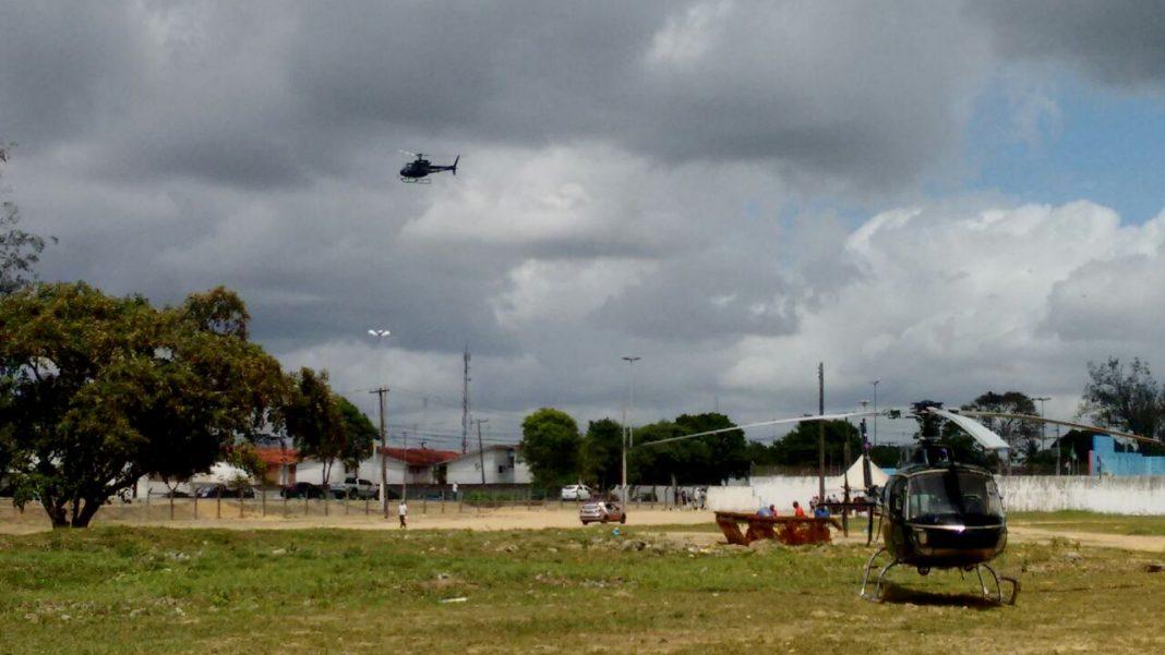 Em megaoperação, Alagoas movimenta 600 presos no Complexo Penitenciário