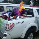 Policiamento Ambiental com apoio do Águia, prende baloeiros e apreende 3 balões