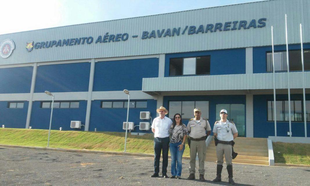 Base Avançada de Barreiras do GRAER será inaugurada na sexta-feira