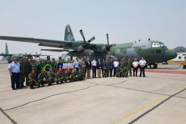 População chilena agradece FAB pelo trabalho; foram 48 missões em seis dias