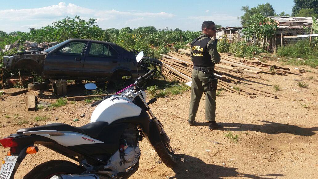 Equipe do helicóptero da Força Nacional localiza veículos roubados em Porto Alegre