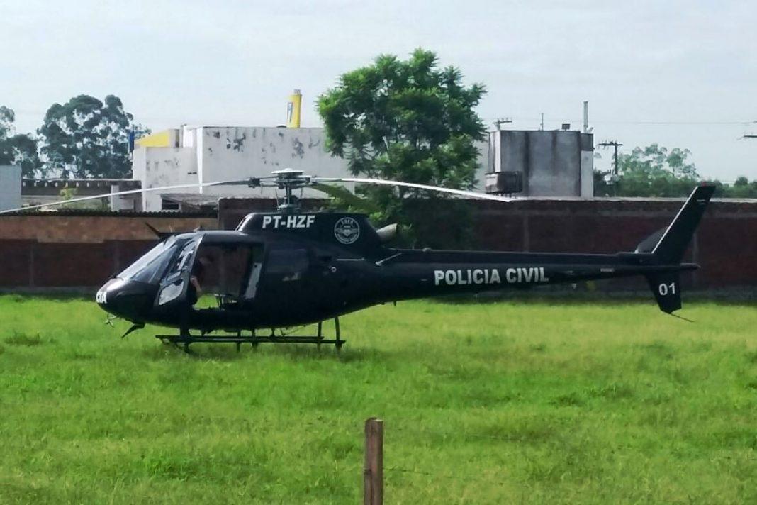 Assalto a farmácia no Centro de Forquilhinha mobiliza policiais e helicóptero do SAER