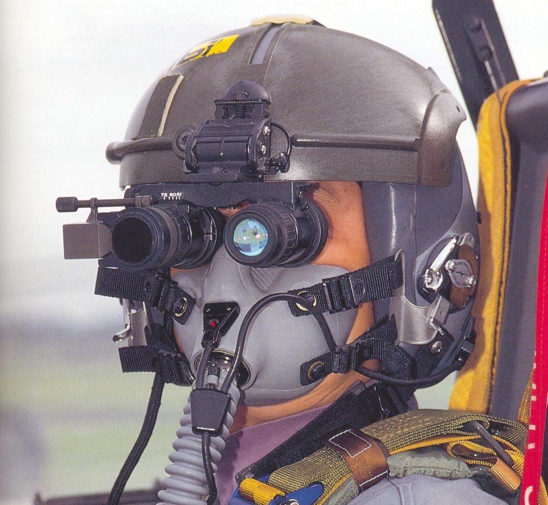 Uso de óculos de visão noturna em operações policiais aéreas