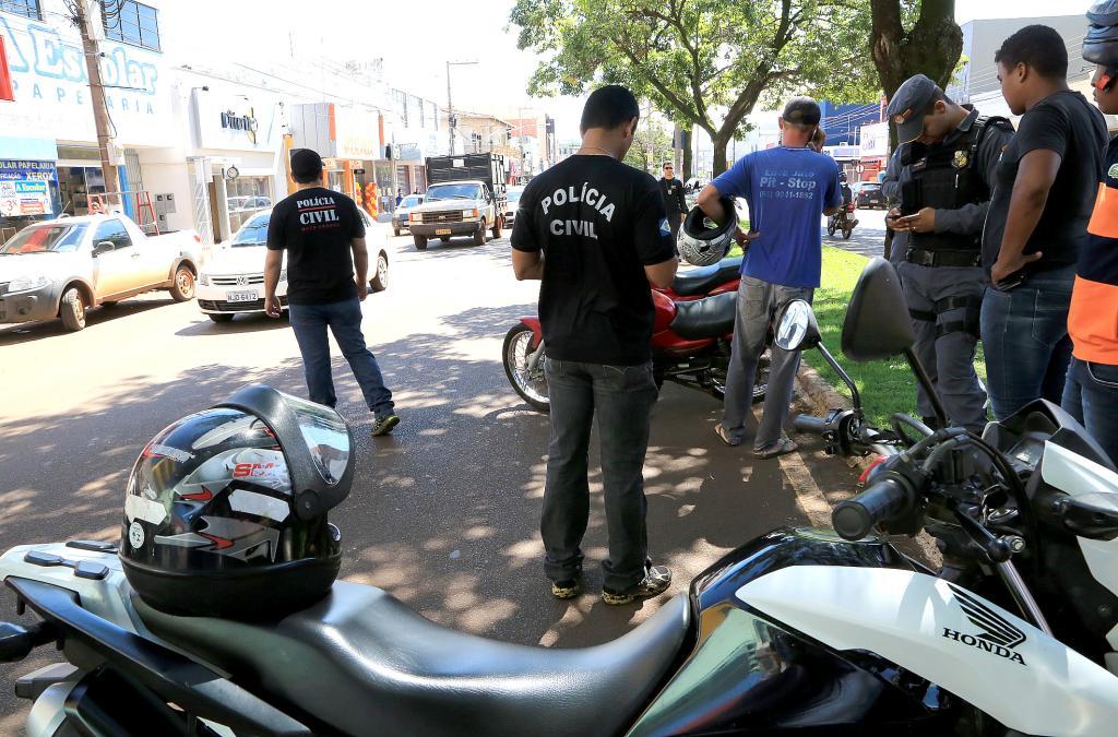 Operação Bairro Seguro em Tangará da Serra - Foto por: Lenine Martins/Sesp-MT