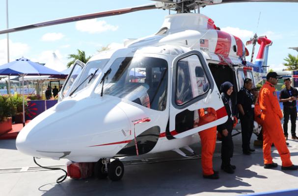 AW139 Policia Malasia