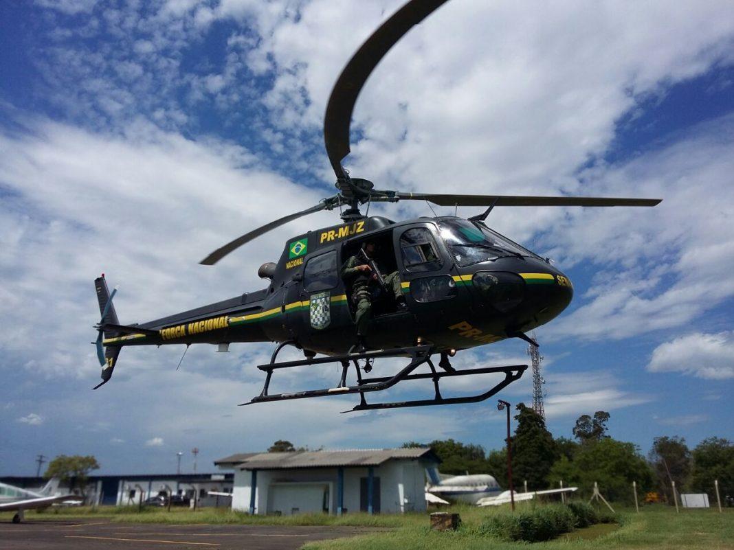 Helicóptero da Força Nacional reforçará operação em Sergipe