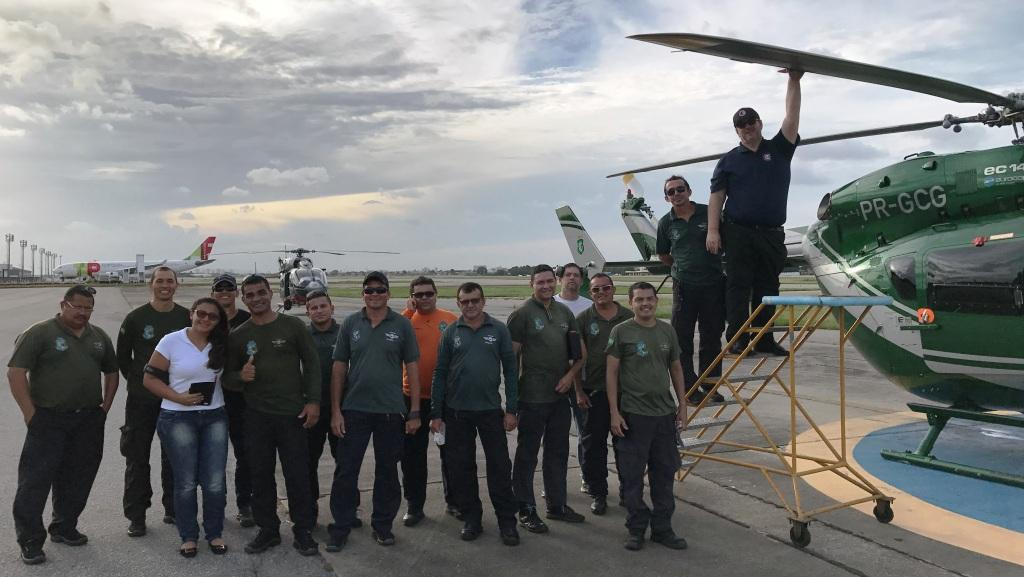 Técnicos da CIOPAer do Ceará realizam curso de balanceamento