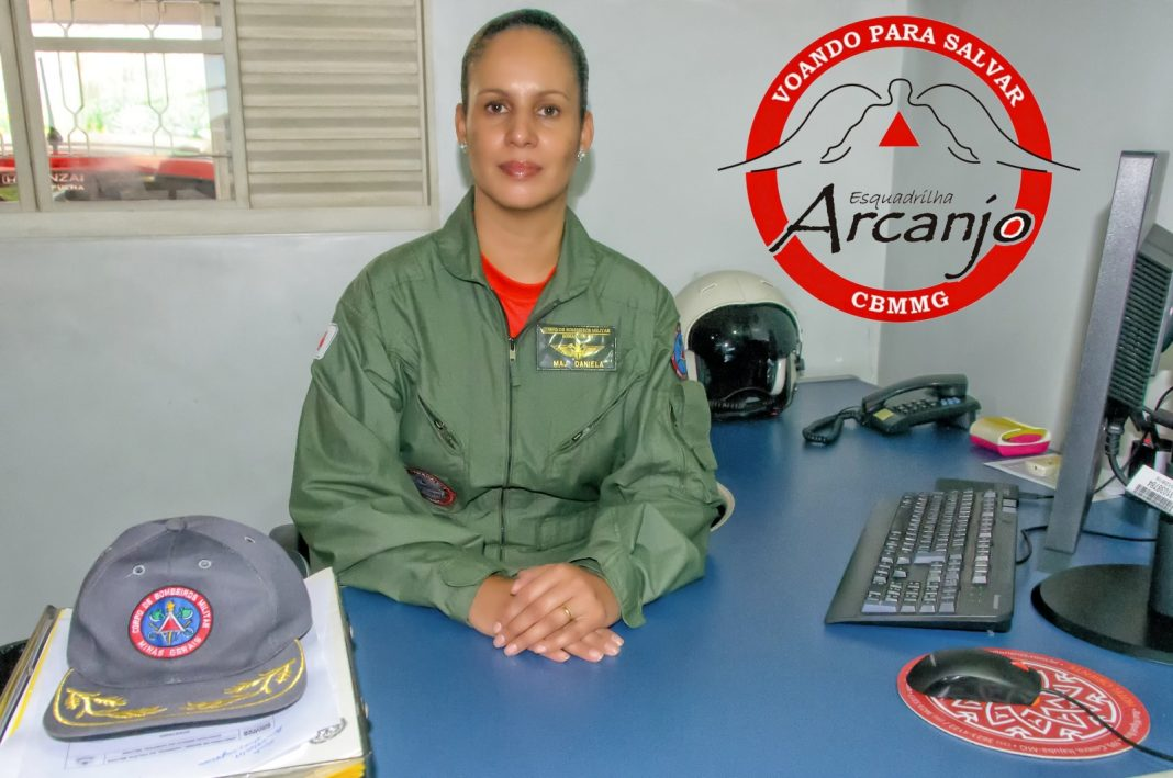 Major Daniela Comandante do BOA CBMMG Foto Caiafa